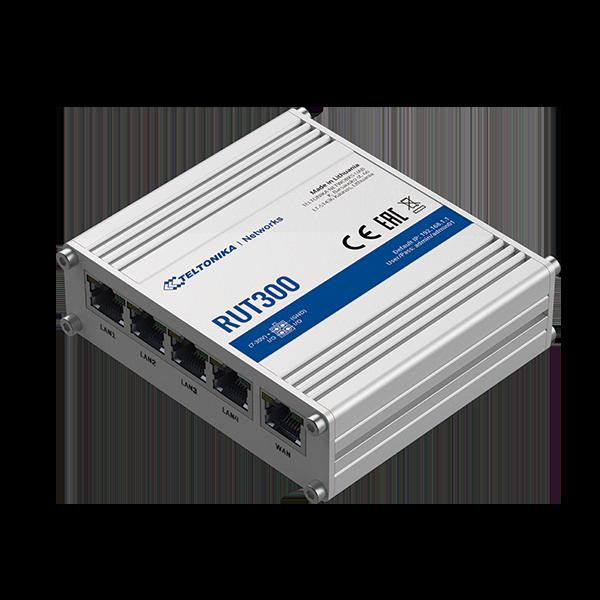 RUT300. Router VPN, 5xFE